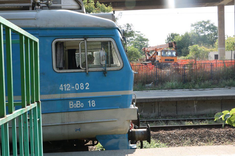 voz na železničkoj pruzi