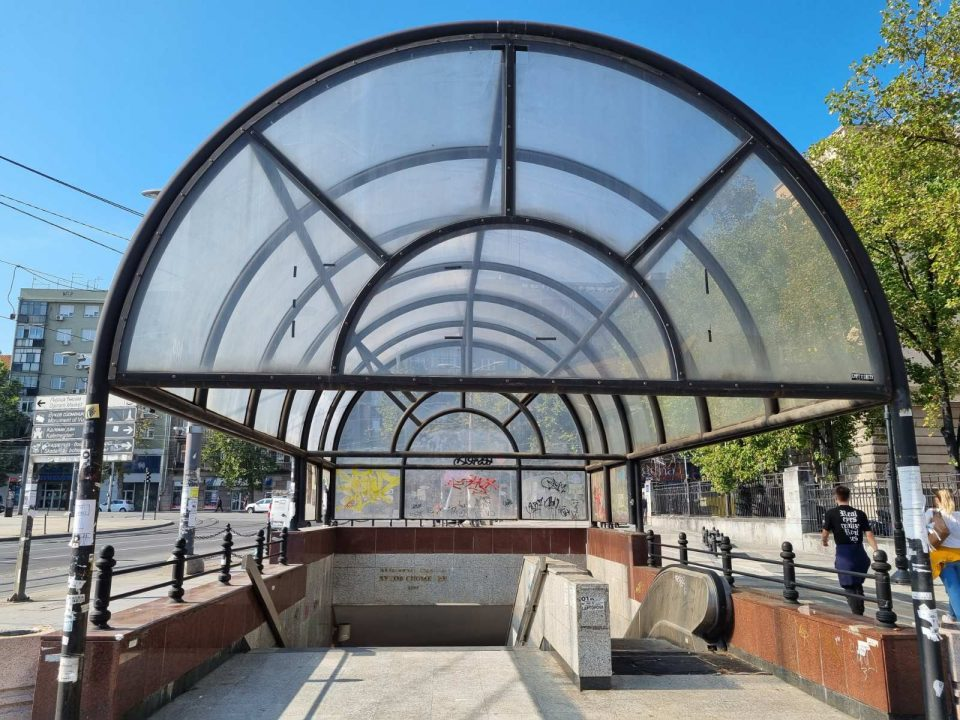 Ulaz u stanicu Vukov spomenik